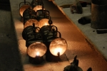 Lanterns for cave visitors
