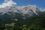 Rugged dolomite peaks of the Alps