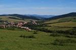 Village of Strání near eastern border