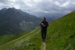On a trail in Belanské Tatras