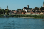 Szentendre viewed from Danube