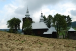 Wooden church in Carpathians