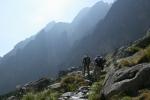 Trail to Téry hut, The High Tatras