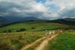 Walk below the Low Tatras